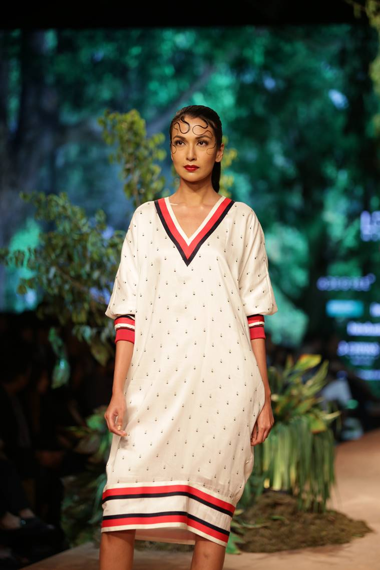 Lotus India Fashion Week 2019., Lotus India Fashion Week 2019. samant chauhan collection, iindian express, indian express news