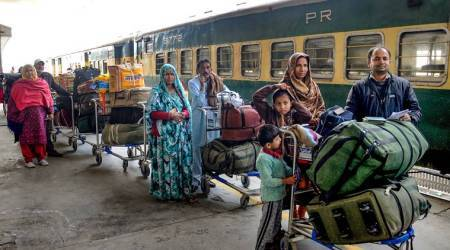 Samjhauta express, samjhauta express service restored, train service restored, india pakistan relations, inda pakistan tension, indo pak relations, indian express