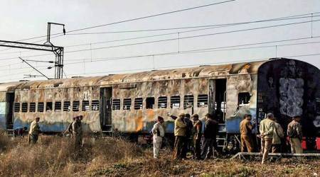 Samjhauta case, Samjhauta Express blast case, Aseemanand, Swami Aseemanand,Samjhauta Express Pak national appeal, Samjhauta Express case verdict, NIA Samjhauta Express, indian express, latest news