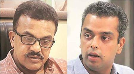 sanjay nirupam, milind deora, milind deora resigns, sanjay nirupam mumbai congress, sanjay nirupam congress, milind deora congress, congress milind deora, mumbai regional congress committee, mumbai news, india news, Indian Express