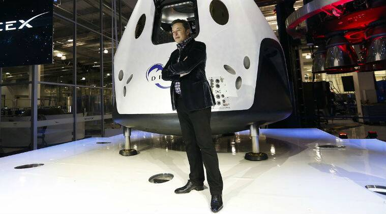 Space X's Crew Dragon capsule docks with International Space Station