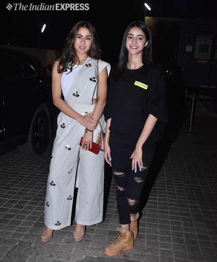 Sara Ali Khan, Sara Ali Khan Pant Sari