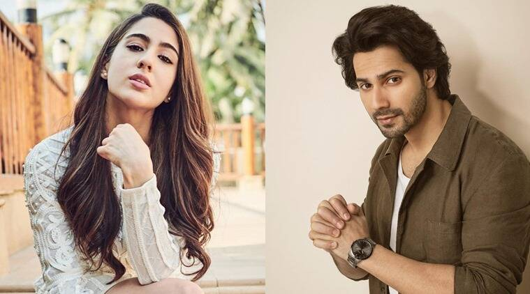 sara ali khan and varun dhawan in coolie no 1