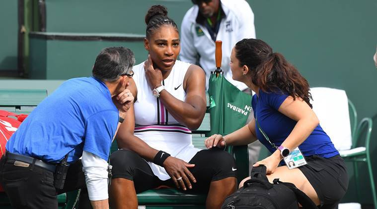 Serena Williams retires to send Garbine Muguruza R16 — WTA Indian Wells
