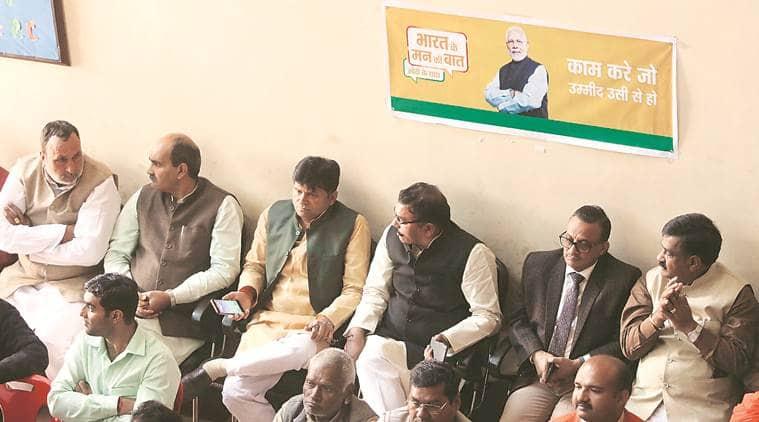 Narendra modi, pm modi campaign, pm modi booth campaign, decision 2019, lok sabha elections, general elections, abhinandan, abhinandan india return, Indian express