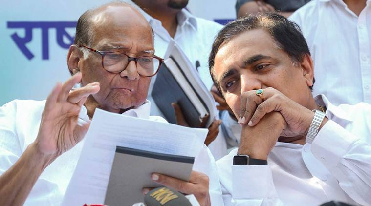 Congress-ncp Announce Seat-sharing Pact In Maharashtra