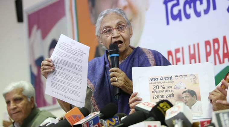 Statehood irrelevant in Lok Sabha Elections, nothing much can be done: Sheila Dikshit
