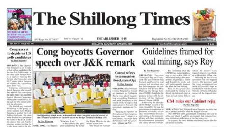 SC stays Meghalaya HC contempt order against Shillong Times editor