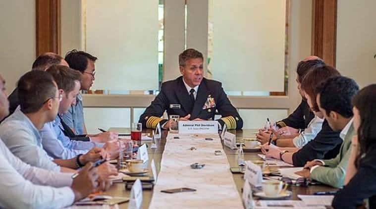 united states, american military, india, japan, australia, us indo pacific command, singapore, shinzo abe, tsunami, indian express news