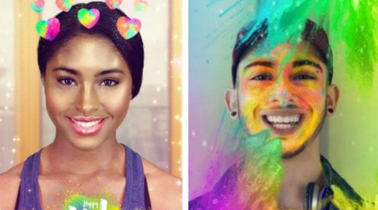 Snapchat, Snapchat India, Snapchat Holi filters, Snapchat Holi stickers, Holi lenses, Holi Bitmojis, Snapchat Holi, stockers, filters, Holi, festival of colours