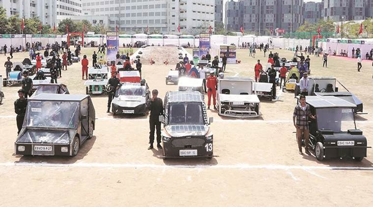 Students from 23 Indian states to take part in 6th Electric Solar Vehicle Championship