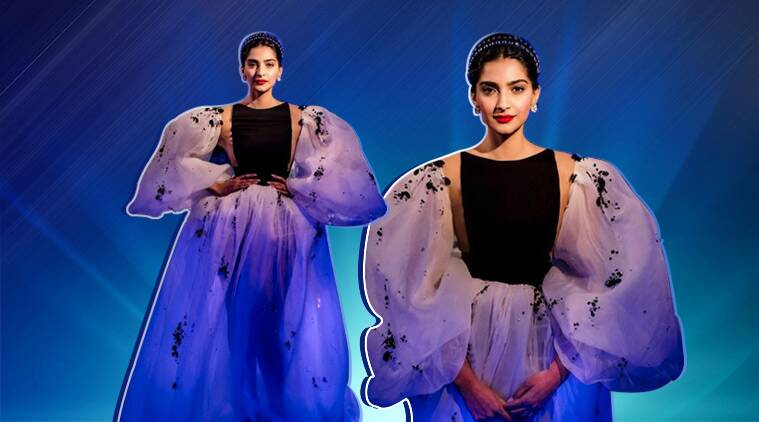 Sonam Kapoor looks gorgeous in this Stephane Rolland gown