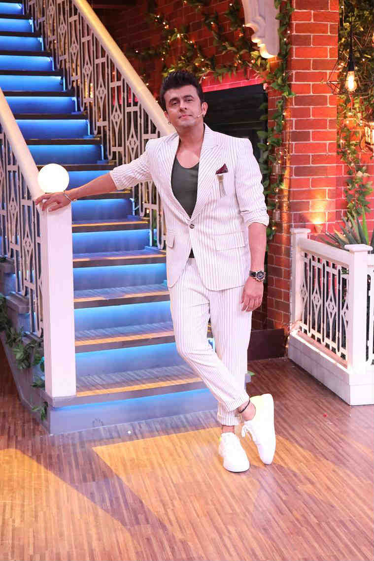 sonu nigam on the kapil sharma show