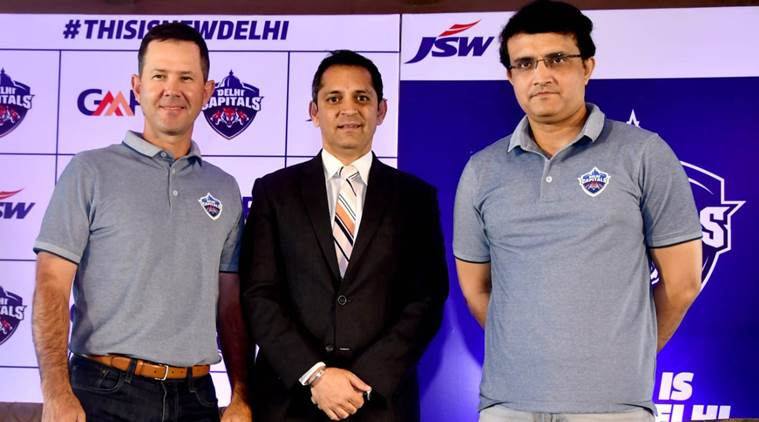 Sourav Ganguly and Ricky Ponting