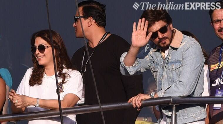 IPL 2019: Shah Rukh Khan attends Kolkata Knight Riders vs Sunrisers Hyderabad match