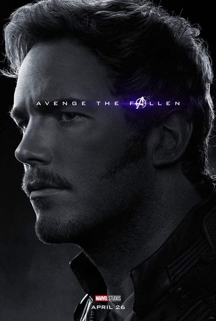 star lord in avengers endgame