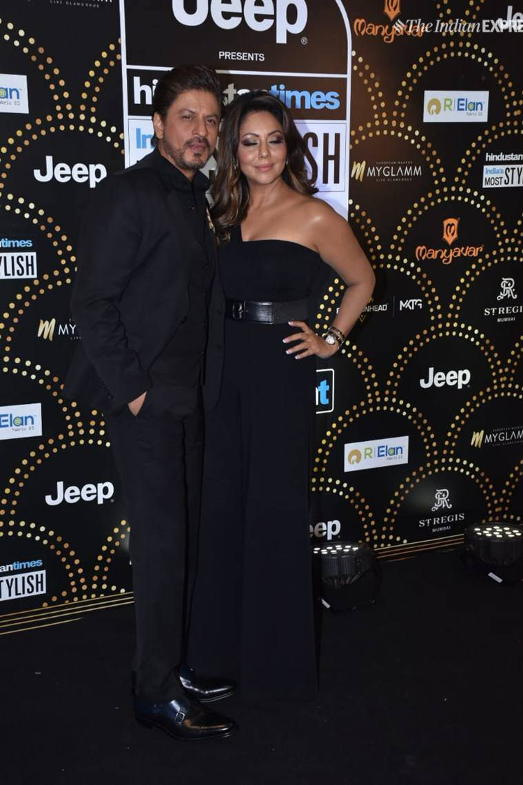 shah rukh khan, gauri khan photos