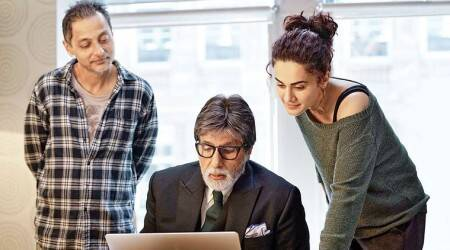 Sujoy Ghosh Taapsee Pannu Amitabh Bachchan Badla box office collection Day 3