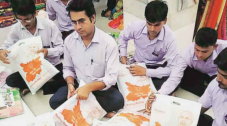 Sarees with PM's, soldiers' images attract legal notice to textile trader