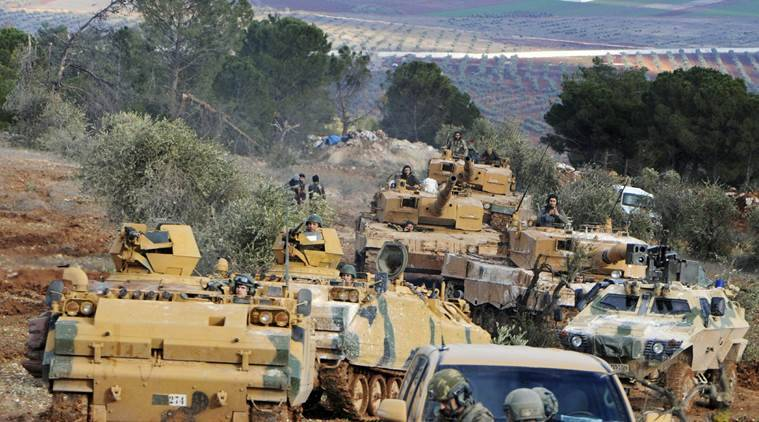 syria, war in syria, syrian war, eight years of war in syria, bashar assad, syrian government, syrian democratic forces, sdf, united states, kurds, islamic state, militants, idlib, damascus, civil war, iraq, turkey, donald trump, world news, indian express news