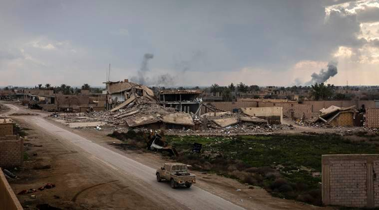Last Islamic State village in Syria falls, caliphate crumbles