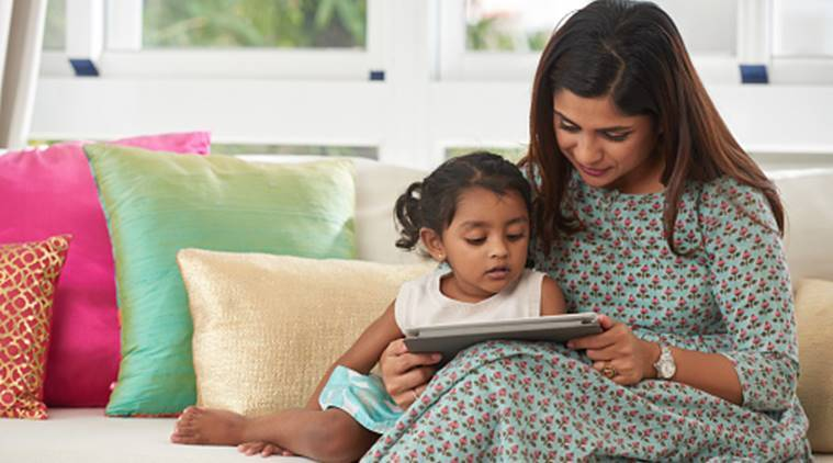 Toddlers reading e-books are less likely to interact with parents' | Parenting News,The Indian Express
