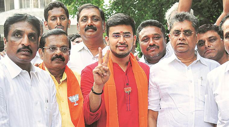 Bangalore South: BJP fields youth who called polls patriotism test