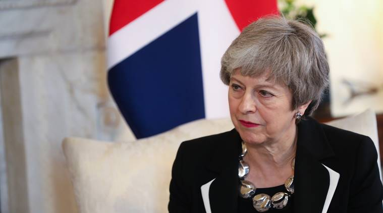 theresa may, britain, britain prime minister, brexit, brexit deal, european union, parliament, world news, indian express news
