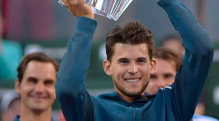 Dominic Thiem tops Roger Federer to win Indian Wells title