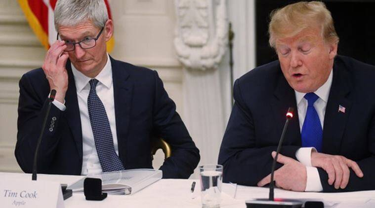 Trump doubles down on 'Tim Apple' after flub goes viral