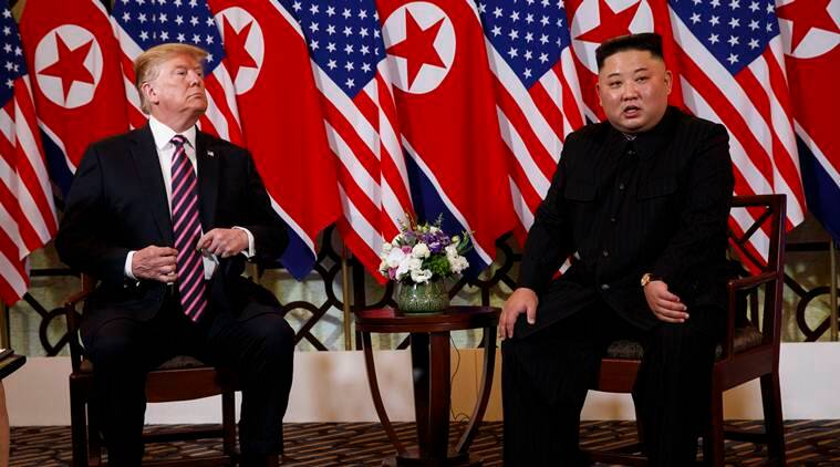 Trump Blames Democrats for Failed Summit With Kim Jong Un