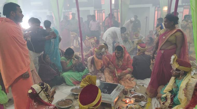 Each woman from transgender community, 15 couples tie the knot in Raipur
