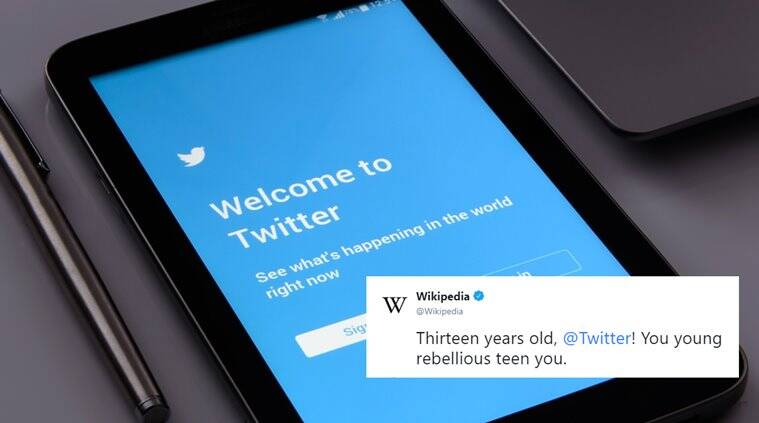 twitter, twitter birthday, wikipedia, wikipedia twitter banter, funny internet conversation, twitter edit button, funny twitter threads, funny news, tech news, indian express