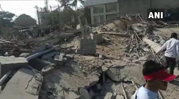 Karnataka: Under-construction Building Collapses In Dharwad; 2 Dead, 40 Feared Trapped