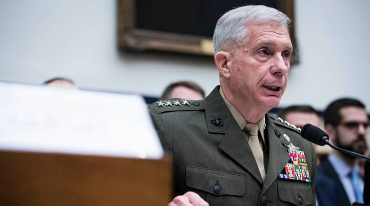 Gen. Thomas D. Waldhauser, the head of the military's Africa Command