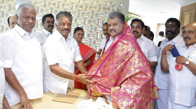 After sealing pact with AIADMK, GK Vasan says Tamil Manila Congress will  contest from Thanjavur | Elections News,The Indian Express