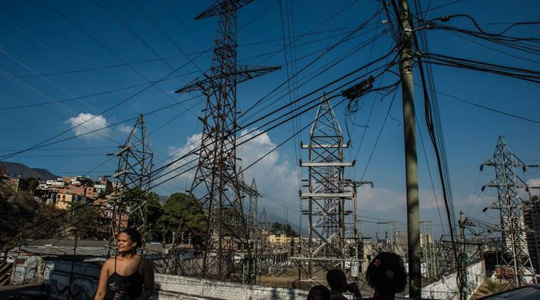 major power failure shuts down caracas and most of venezuela world news the indian express https indianexpress com article world major power failure shuts down caracas and most of venezuela 5617383