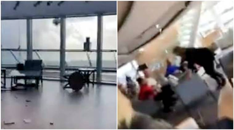 Viking Sky ship, ship rescue, 1300 people stuck on ship, Norway cruise ship, Norway cruise ship evacuation, Norway cruise ship viral video, Norway cruise ship rescue operation, viral video, indian express, indian express news