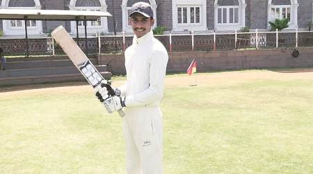 Mumbai: Makarand Patil, son of a farmer, hits six sixes in an over