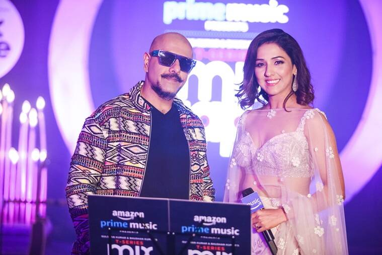 Vishal Dadlani and Neeti Mohan