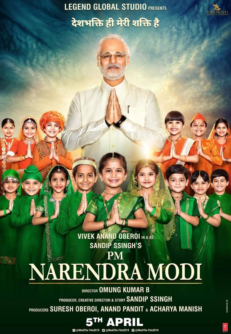 Vivek oberoi in and as Narendra Modi