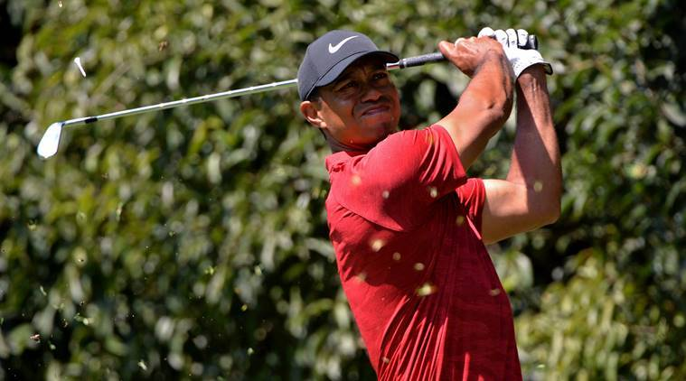 Tiger 'feeling good' as he arrives for the Players