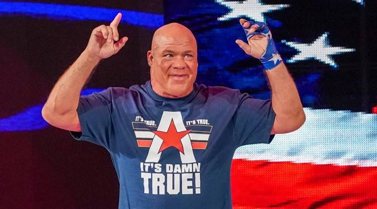 WWE Raw: Kurt Angle announces his WrestleMania opponent and fans aren't pleased
