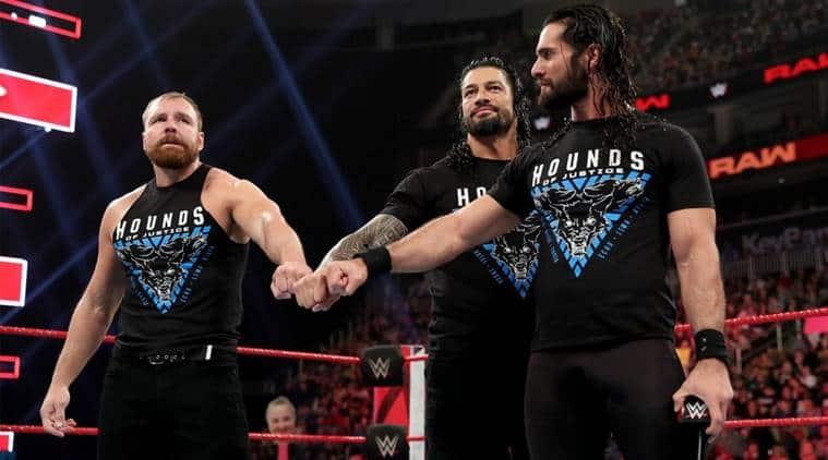 The Shield Defeats Corbin, Lashley And McIntyre