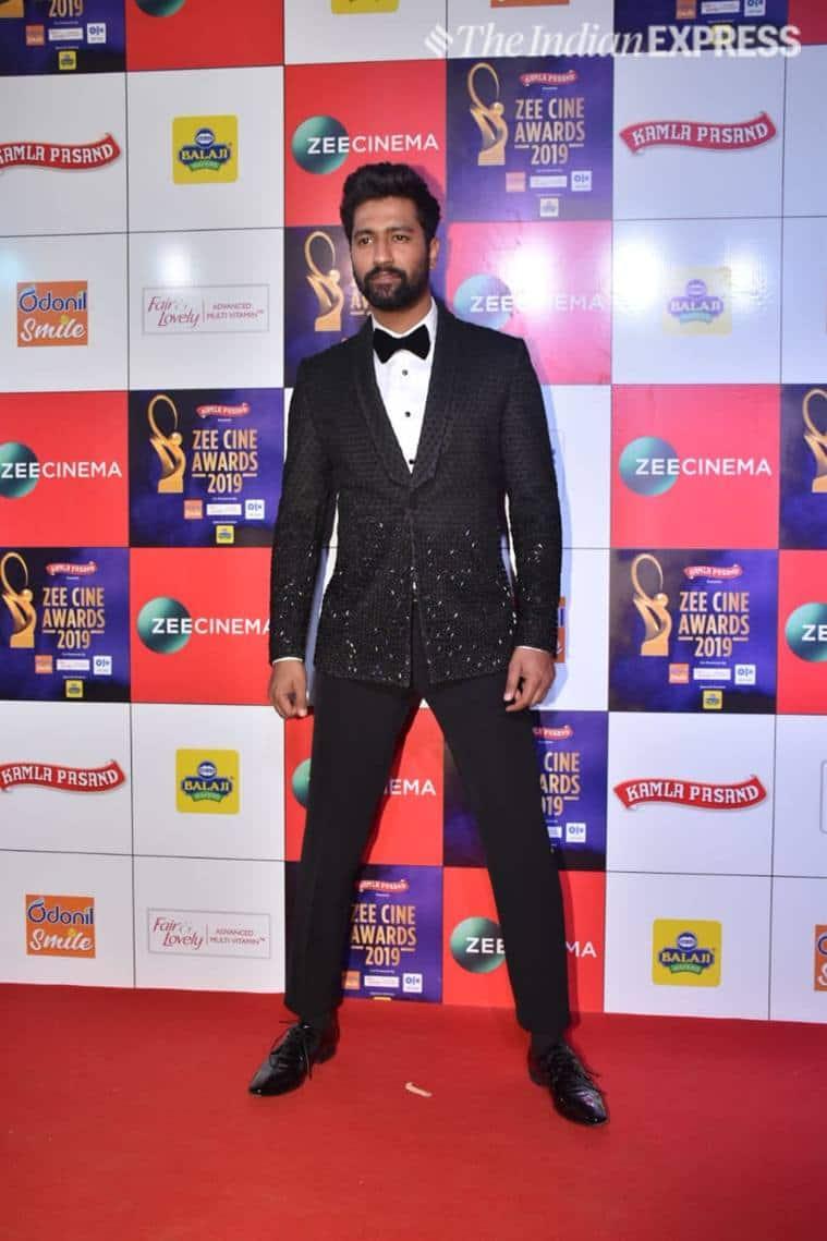 vicky kaushal Zee Cine Awards 2019.