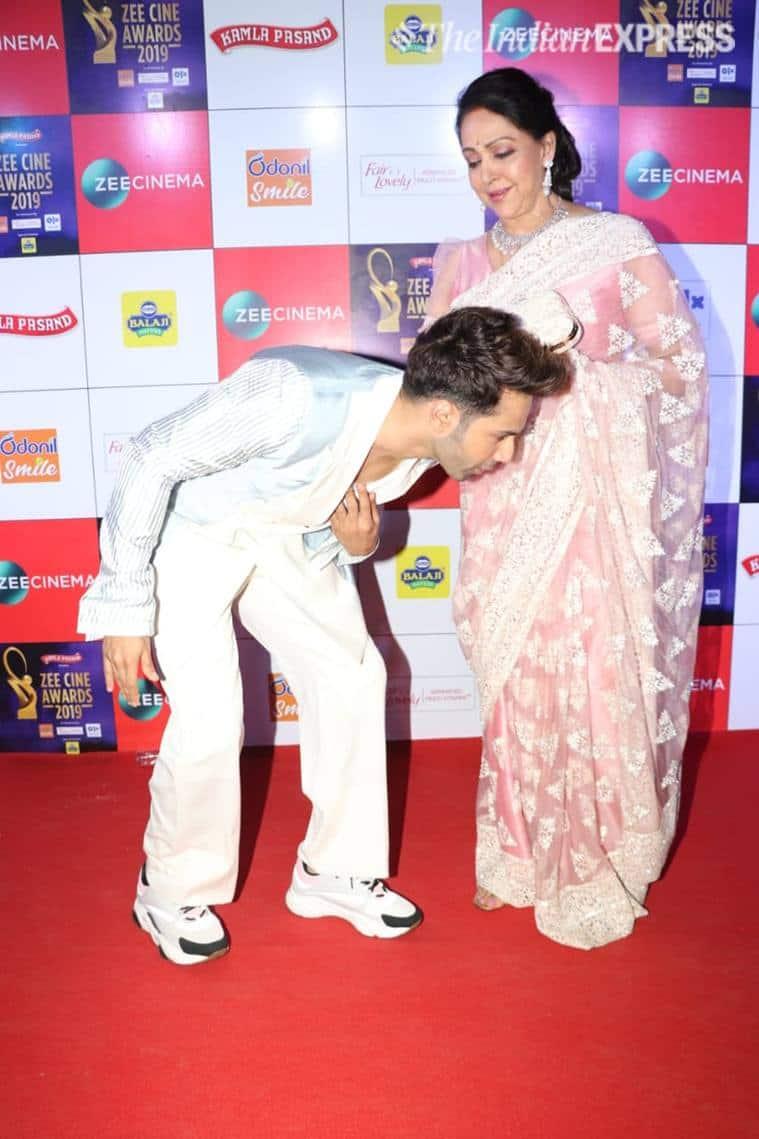 hema malini Zee Cine Awards 2019.