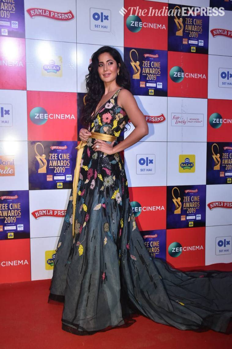 katrina kaif  Zee Cine Awards 2019.
