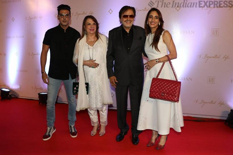 farah ali khan book launch