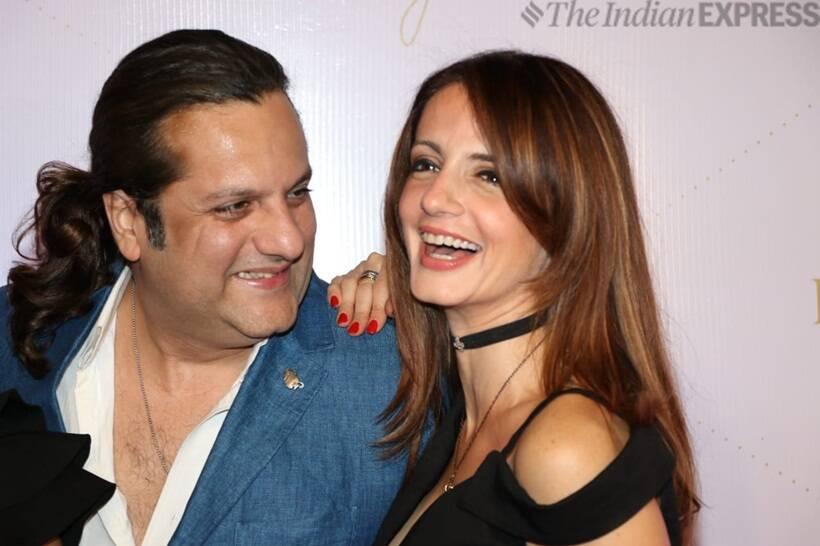 Sussanne Khan too attended the launch of Farah Khan: A Bejewelled Life
