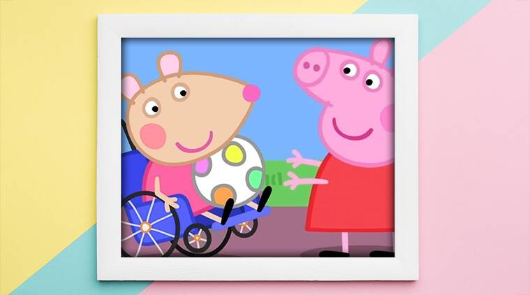 Peppa pig mandy ,mouse